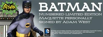 Batman PrePainted Maquette