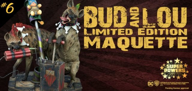 Bud and Loug Maquette