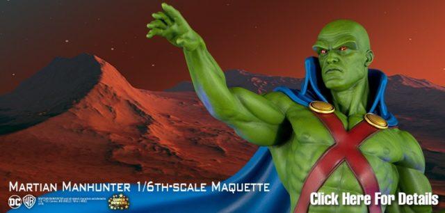 Martian Manhnter Maquette