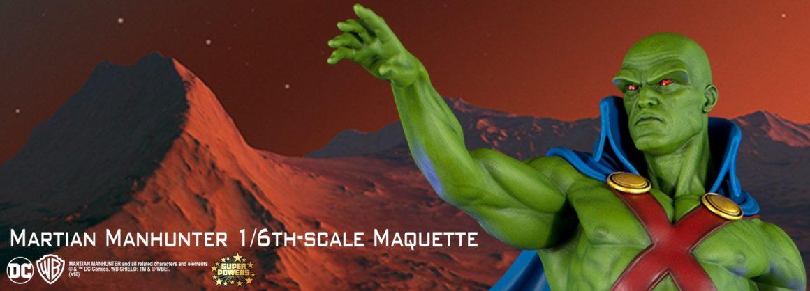 Martian Manhunter Maquette
