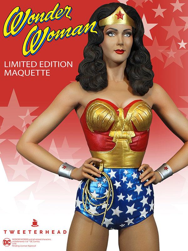 Wonder Woman Maquette