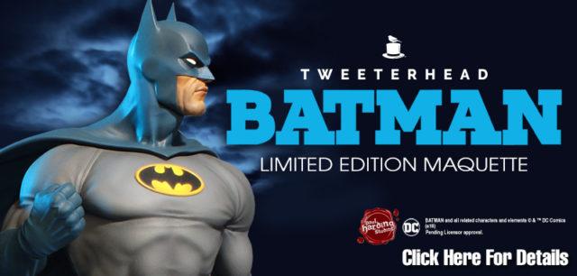 Batman Limted Edition Maquette
