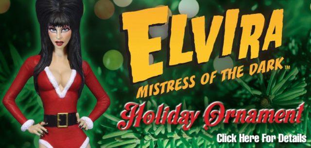 Elvira Ornament