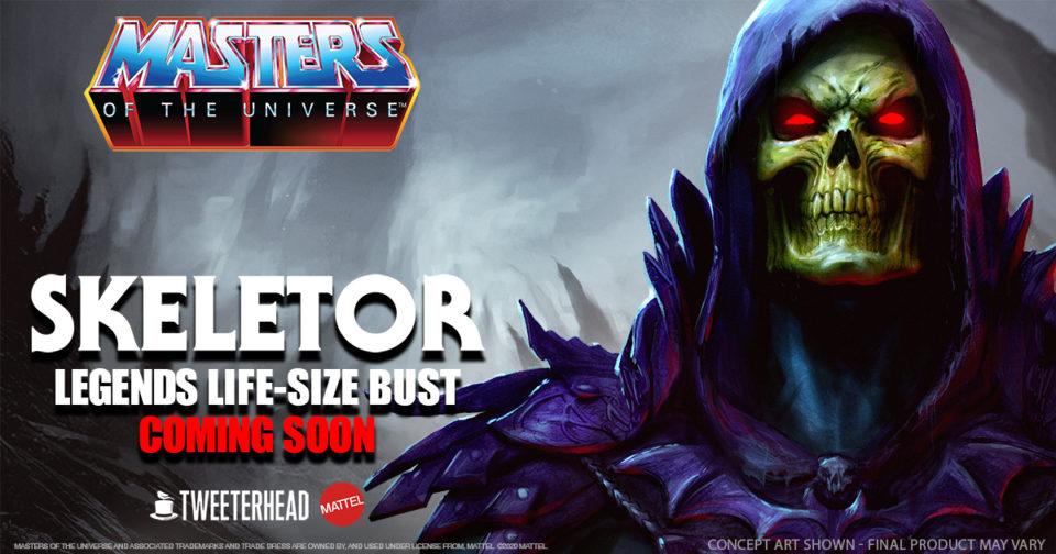 Skeletor Bust Pre-order